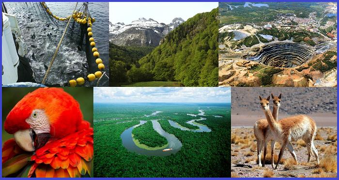 Resultado de imagen para Recursos Naturales de Perú